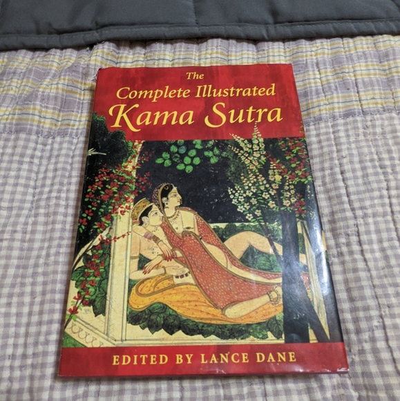 Book of the complete illustrated kama sutra